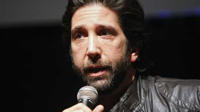 Did David Schwimmer from 'Friends' rob a grocery store?