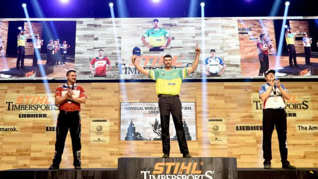 Australia wins fifth Timbersports world title