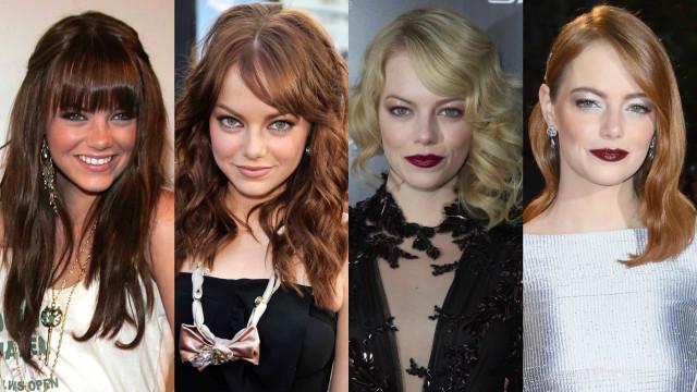 Así de impactante es Emma Stone y su evolución hollywoodiense