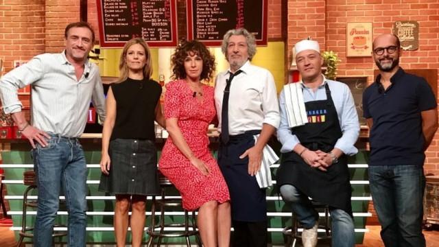 """""""Burger Quiz"""": pour sa dernière, Alain Chabat a challengé Marina Foïs"""