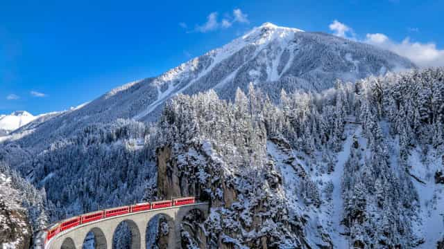 Scenic train routes to take this winter