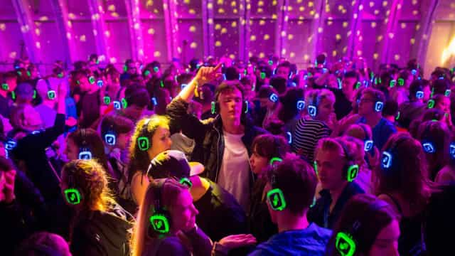 The surprising health benefits of silent discos