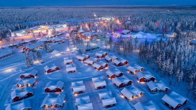 Matkustetaan Lappiin, talven ihmemaahan!