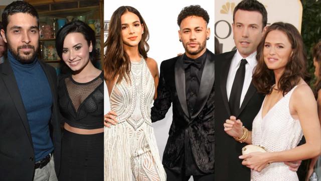 Ex-casais de famosos que continuam amigos!