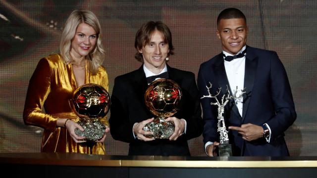 Ballon d'or 2018: une cérémonie en demi-teinte