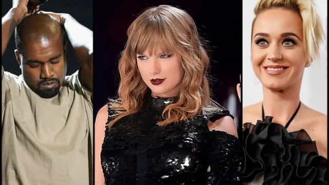 Taylor Swift et son interminable liste d'ennemis