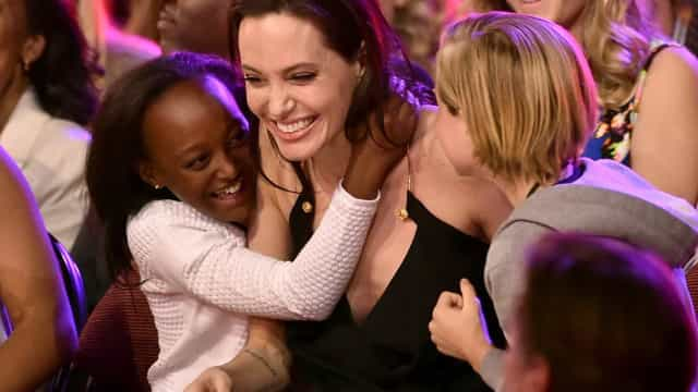 Angelina Jolie embraces this difficult part of parenting