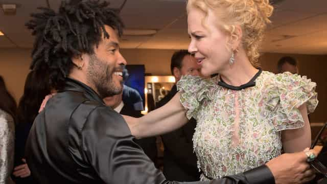 Lenny Kravitz talks daughter and ex-fiancée working together