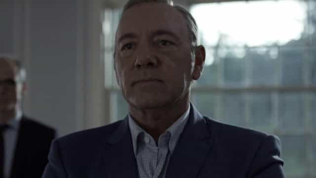 Watch Kevin Spacey resurrect Frank Underwood in unsettling video