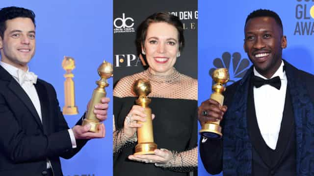 LGBT와 관련이 있는 2019 골든글로브 수상자