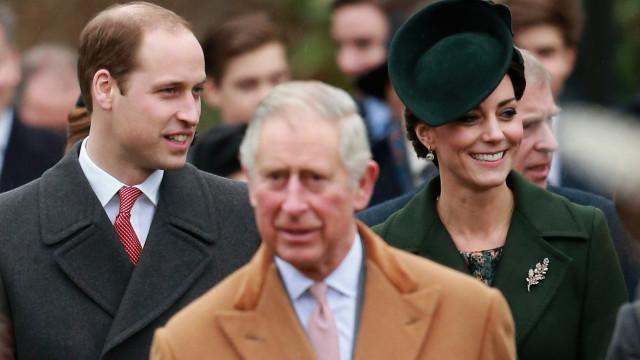 Britânicos preferem William do que Charles como rei