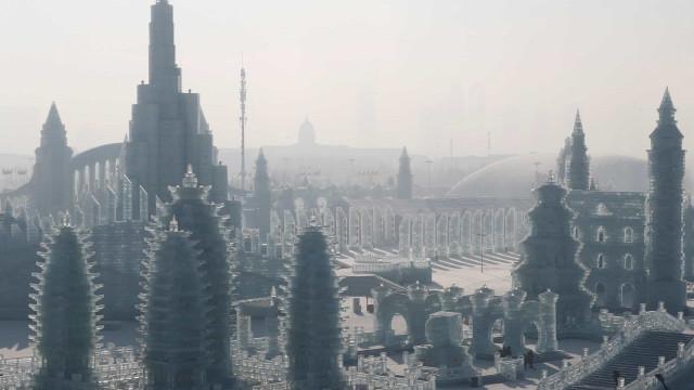 China's stad van ijs