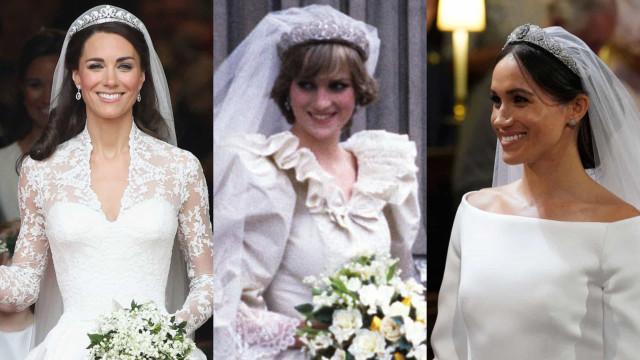 Los vestidos de novia más asombrosos de la realeza