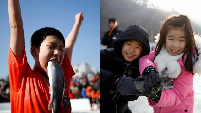À la découverte du festival de glace de Sancheoneo