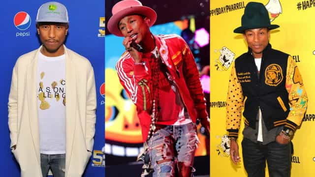 Pharrell Williams: le sens inné du style!