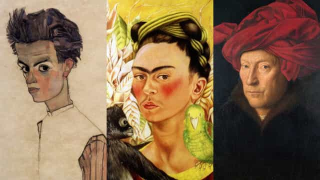 Selfies on canvas: Self-portraits of great artists