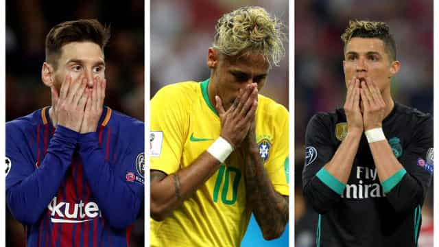 Fraude fiscal: A polémica que rodeia Ronaldo, Messi e Neymar
