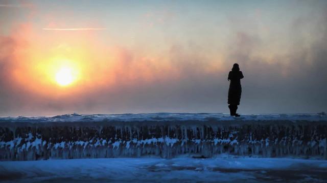 Las fotos más bellas del vórtice polar en los Estados Unidos