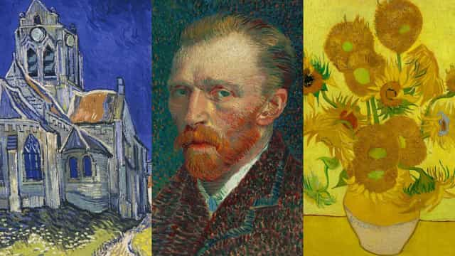 The works of tormented genius Vincent van Gogh
