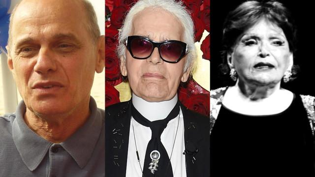 Karl Lagerfeld e outros famosos que nos deixaram em 2019