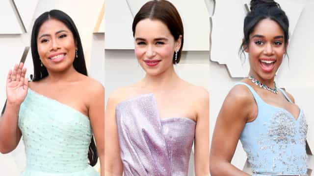 Pretty in pastels: the hot trend at the 2019 Oscars
