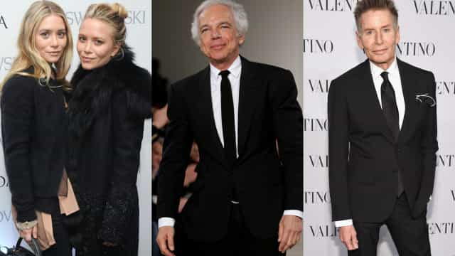 The world's wealthiest fashion designers