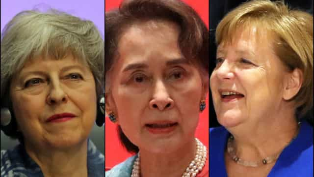 Women leaders around the world