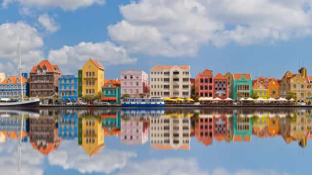 Discover the candy-colored Dutch Caribbean island of your dreams
