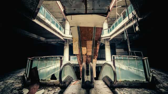 Creepy abandoned malls around the world