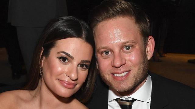 Atriz Lea Michele, da série 'Glee', se casa com empresário Zandy Reich