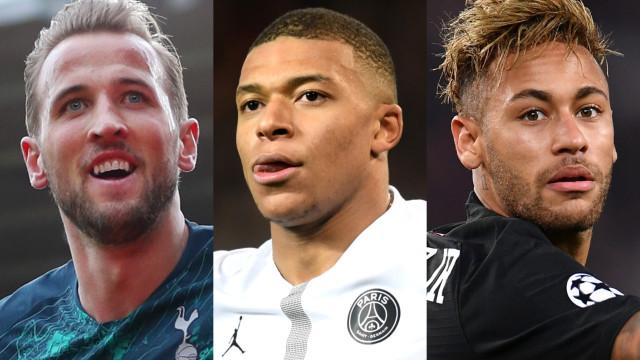 2019 세계 최고의 가치를 자랑하는 축구 선수들