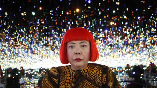 Enter the immersive world of Yayoi Kusama's infinity art