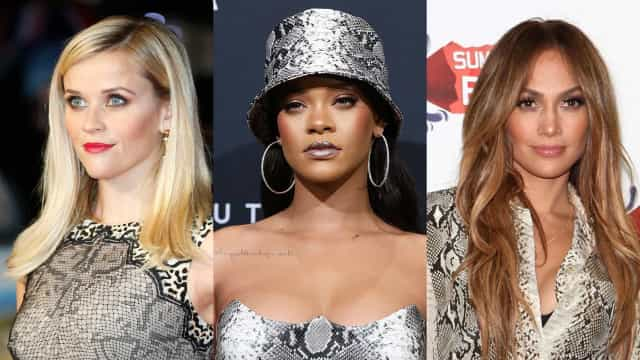 Stars in snakeskin: a trend to spread or shed?