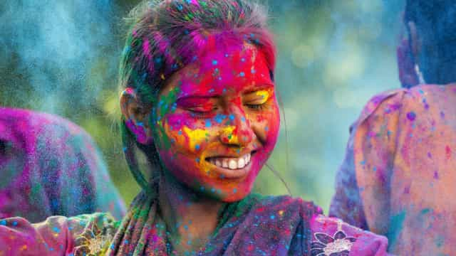 Colored up! The vibrant Hindu festival of Holi