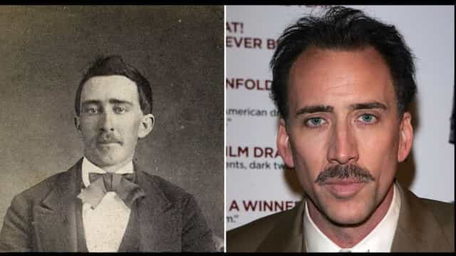 Creepy! Celebrities who have doppelgängers from the past