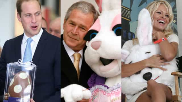 Surprising ways celebs celebrated Easter