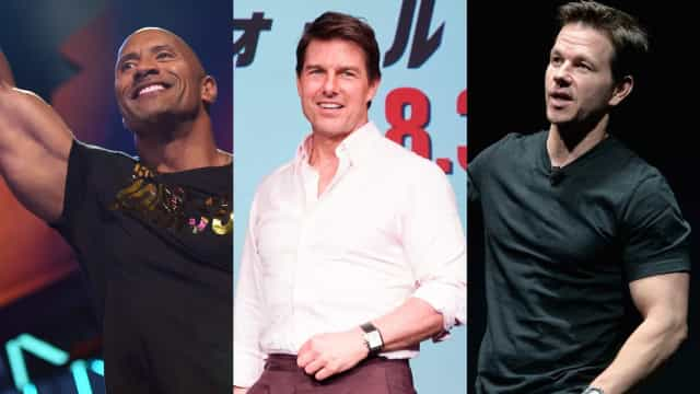 Famous men over 40 who refuse to have a dad bod
