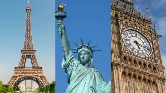 Secrets behind famous monuments