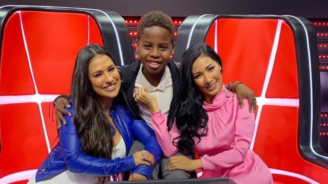 Após vencer 'The Voice Kids', Jeremias gravará música com Simone e Simaria