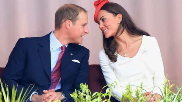 A celebração do amor entre Kate e William