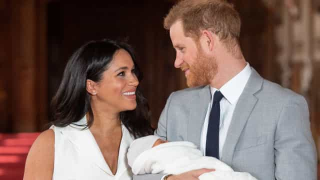 Looks of love on Harry and Meghan's first anniversary