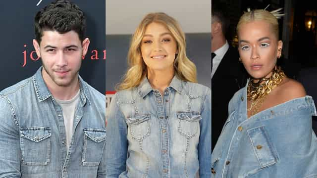 Celebrity-approved double denim looks
