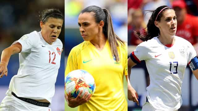 The best players at the 2019 FIFA Women's World Cup