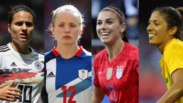 Parhaat pelaajat vuoden 2019 jalkapallon naisten maailmanmestaruuskilpailuissa