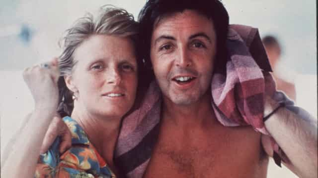 Fascinating photos of Linda and Paul McCartney