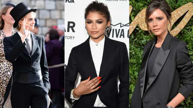 Women in suits: which celeb rocked it best?