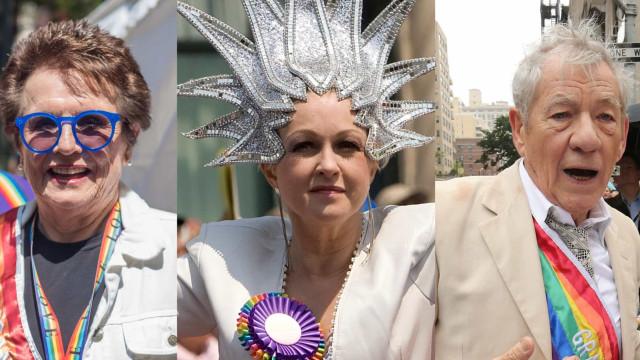 Disse stjerner har deltaget i Pride-parader