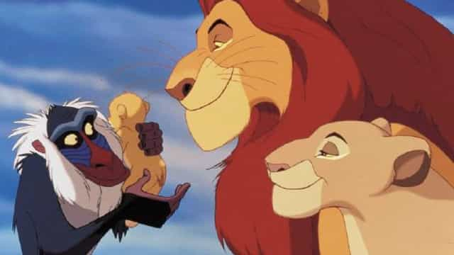 'The Lion King' cast: then and now