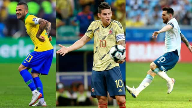 The best images of the 2019 Copa América, so far