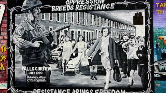 El significado político oculto en los murales de Irlanda del Norte